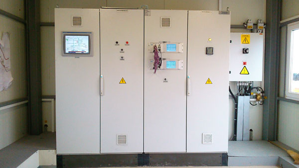 Syscom 18 delivered and commissioned the Process Control System at Technological Node 'Podisor'