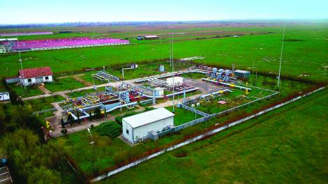Process Control System at Import Gas Station from Mediesu Aurit