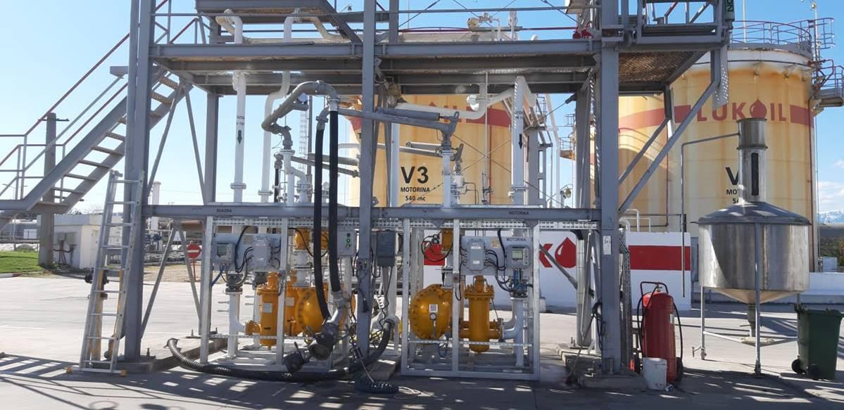 Lukoil Romania, Gasoline and Diesel Metering Skids
